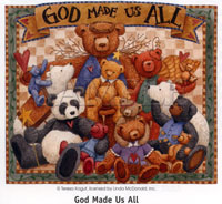 T-Shirt: God Made Us All